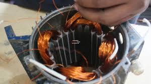 rewinding stator 1